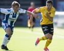 IFK Göteborgs Edvin Dahlqvist mot Elfsborg i en match i U21-serien tidigare i år