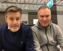 Stefan Lundin och Peter Ebbesen