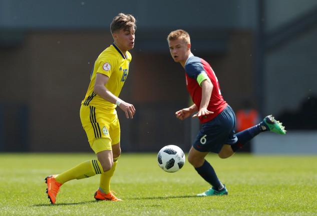 Fotboll, U17, EM, Norge - Sverige
