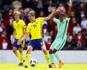 Fotboll, U17, EM, Sverige - Portugal