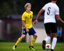 180907 Sveriges Hampus Finndell under P18-landskampen i fotboll mellan Sverige och …sterrike den 7 september 2018 i Valbo. Foto: Simon HastegŒrd / BildbyrŒn / Cop 118