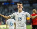 Mattias Svanberg i Malmödressen 2017 efter  fotbollsmatchen mellan Djurgården och Malmö FF i Stockholm. Foto: Simon Hastegård / Bildbyrån
